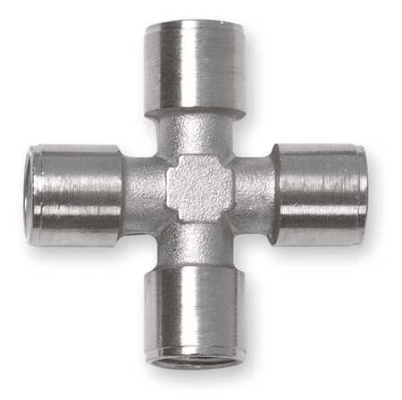 "1/4"" FNPT Nickel Brass Cross"