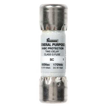 20A Time Delay Melamine Class G Fuse 600VAC/170VDC