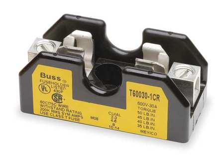 Fuse Block, Industrial, 30A, 1 Pole