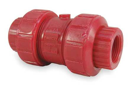 "1"" FPT Kynar Ball Check Valve"