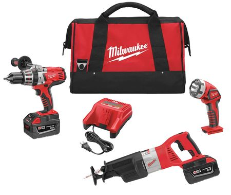 M28 Cordless Combination Kit, Li-Ion, 28.0V