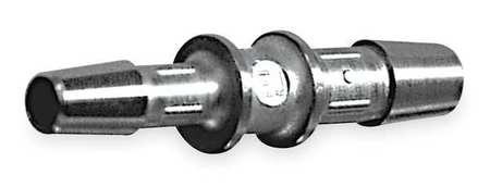 "1/4"" x 1/8"" Barbed SS Reducing Coupler Sch 10"