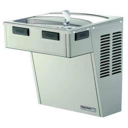 Indoor Water Cooler,  Wall Mount,  Push Bar Operation,  8.0 gph