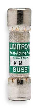 Fast Acting Midget Fuse, Amps 25, KLM