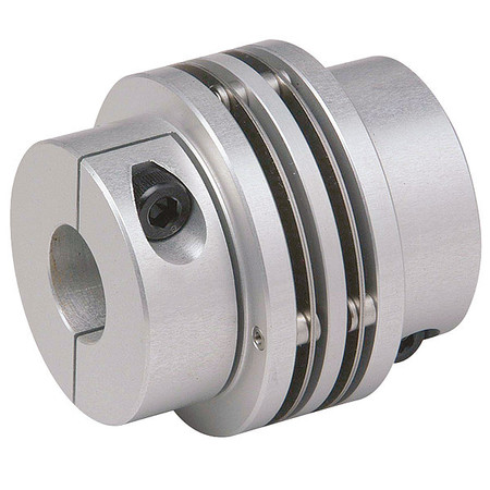 Coupling, Mini Disc, Bore 1/2x1/2 In