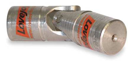 U-Joint, Solid D, Solid Bore, 3/4 In OD