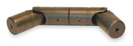 U-Joint, Solid DD, Solid Bore, 3/4 In OD