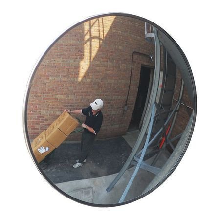 Convex Safety and Security Mirrors