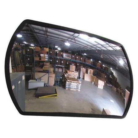Rect,  Acrylic Mirror,  24x36,  Galv Back