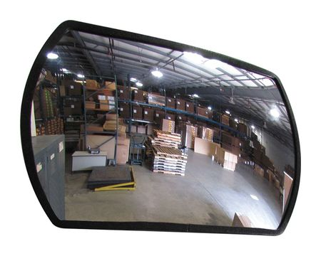 Outdoor Convex Mirror, 12x18 in.