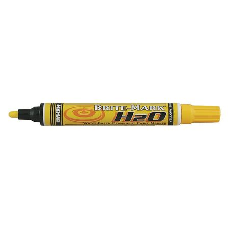 Permanent Paint Marker, Water Base, Yellow