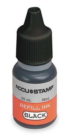 Pre-Inked Stamps, Black, 0.35 oz.