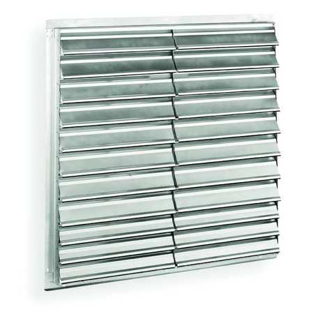 Shutter, Exhaust, 48 In, dbl Pannel