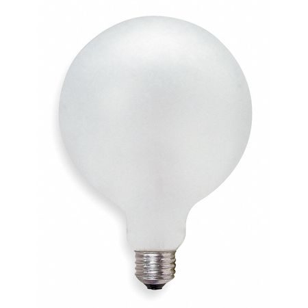 GE LIGHTING 75W,  G40 Incandescent Light Bulb