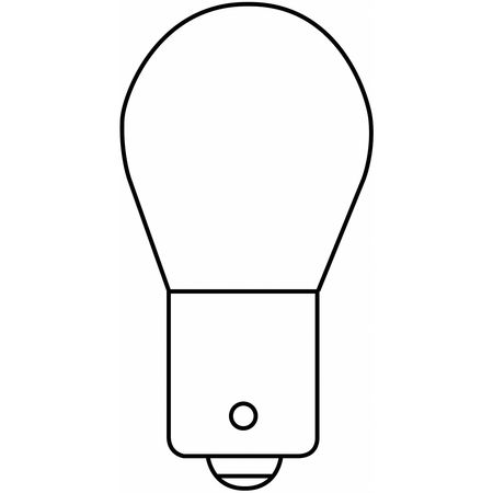 Miniature Lamp, P21W NH, 25W, S8, 14V, PK2