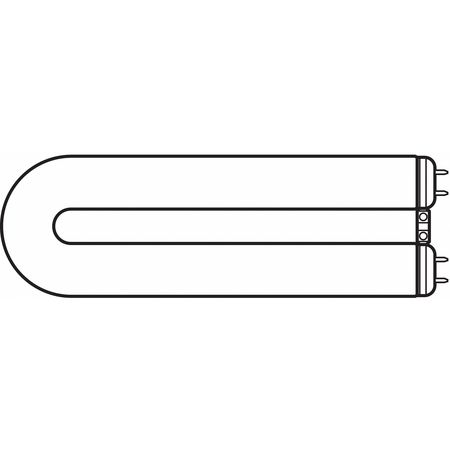 GE LIGHTING 40W,  T12 U-Shaped Fluorescent Light Bulb