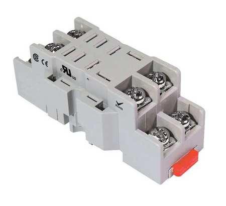 Dayton Relay Socket Standard Square 8 Pin 10E075 Zorocom