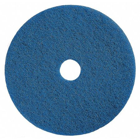 Scrubbing Pad, 17 In, Blue, PK5