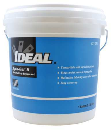 Ideal Wire Pulling Lubricant, 1 gal Bucket, Blue 31-371 | Zoro.com