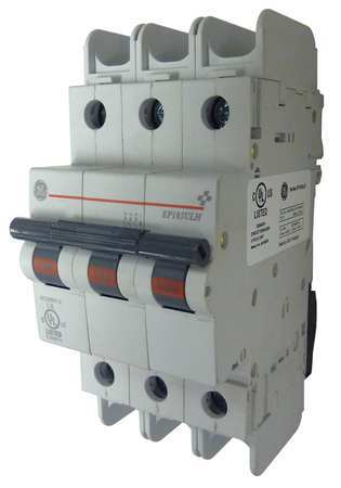 3P Miniature Circuit Breaker 2A 240VAC