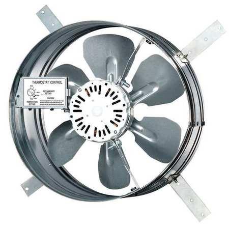 Dayton 1220 Cfm Gable Mount Attic Fan 120v 10w193 Zoro Com