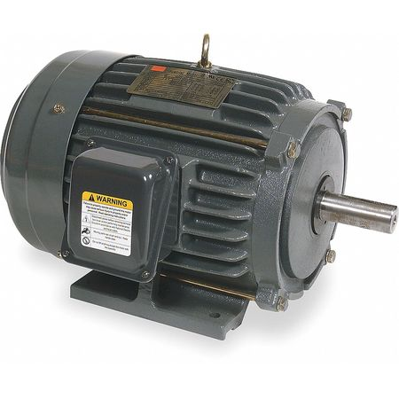 Mtr, 3 Ph, 15 HP, 1770, 208-230/460, Eff 92.4
