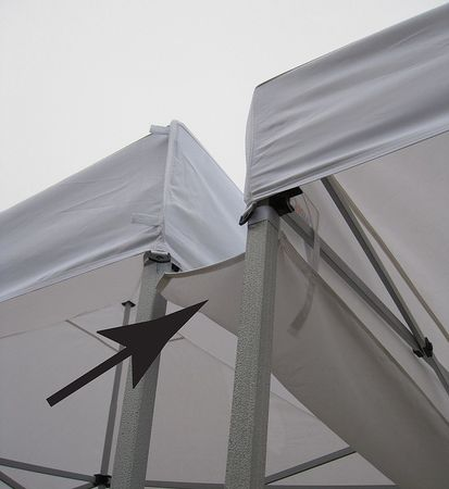 Zoro Select Rain Gutter Canopy Connection 11c557 Zoro Com