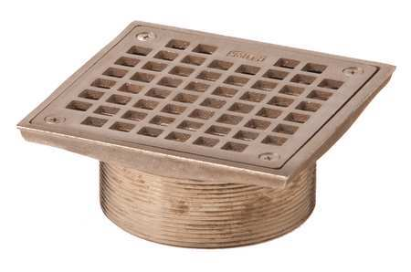 Jay R Smith Mfg Co Floor Drain Strainer Square 5in