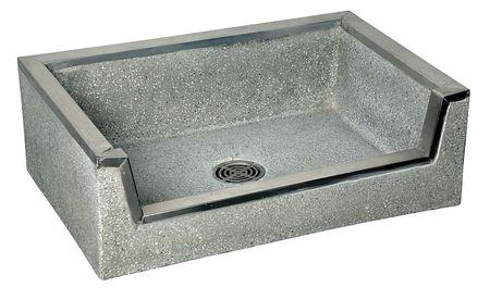 fiat products shower floor, single threshold, 36 x 32 x 4 ... - Terrazzo Shower Base