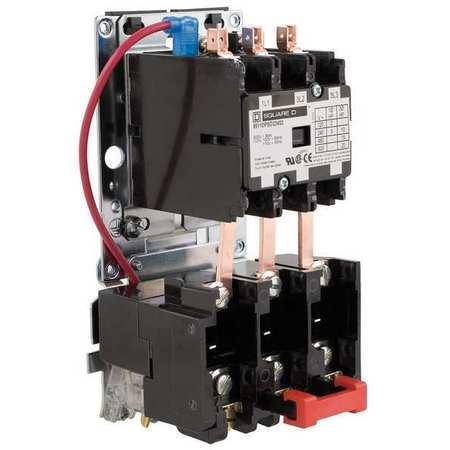 Square d dp motor starter 3p 30a 120v coil open for Square d motor starter wiring