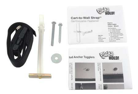 Cart-to-Wall Straps