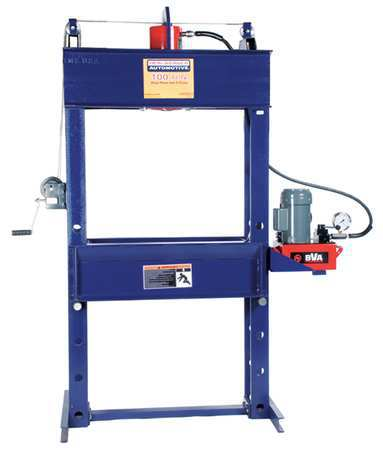 Hydraulic Press, 100 t, Electric Pump