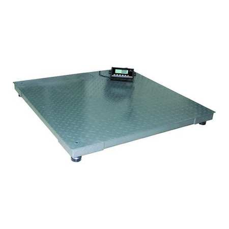 Digital Floor Scale with Remote Indicator 2200kg/5000 lb. Capacity