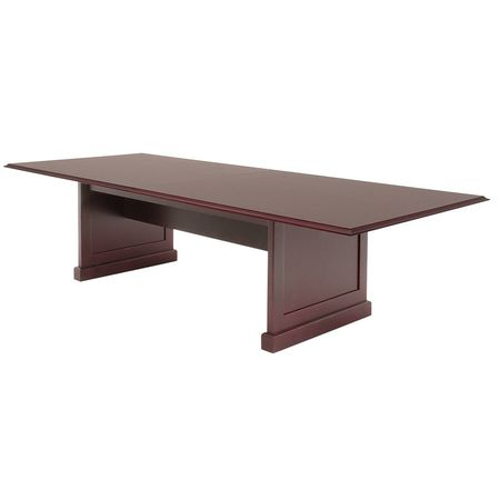Regency Rectangular Conference Table W X L X H Mahogany - Rectangular conference room table