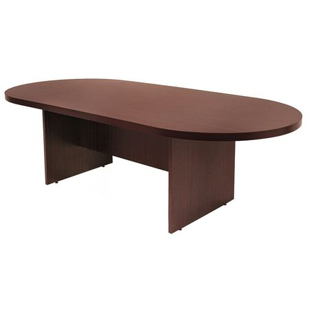 Regency Race Track Conference Table W X L X H Mahogany - 72 conference table