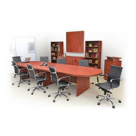 Regency Race Track Conference Table W X L X H Cherry - Cherry conference room table