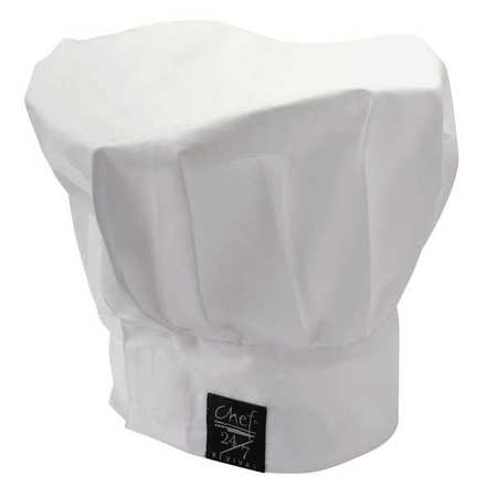 Chef Hat, White, 13 Inch Tall