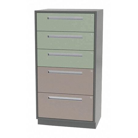 Tall Cabinet, 5 Drawer, ...