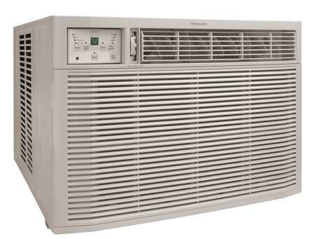 24,700/25,000 BtuH Window Air Conditioner with Heat, 208/230VAC
