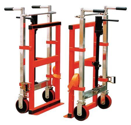 Machinery Mover, Hyd, Cap 4000 Lb, PK2