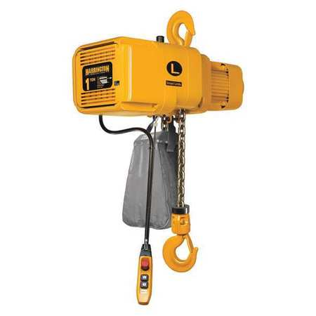Manual Chain Hoist, 2000 lb., Lift 15 ft.