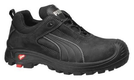 Shoes,Composite Toe,Leather,Black,9,PR