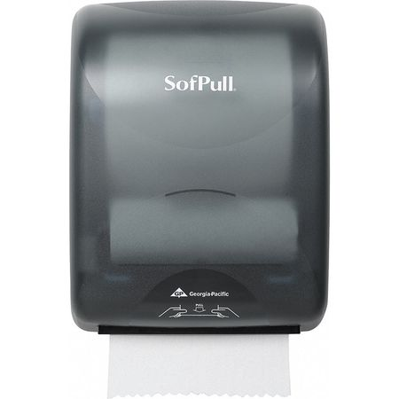 Towel Dispenser, Hardwound, Pull, Plastic