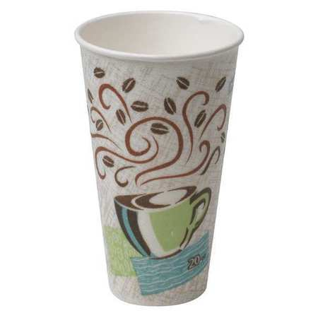 White Disposable Hot Cup 12 oz.,  Pk500