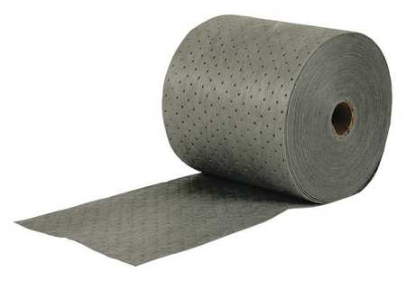 Absorbent Roll, 24 gal., 15 In. W, Gray