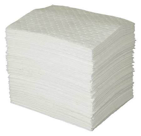 Absorbent Pads, 15 In. W, 12 gal., PK50