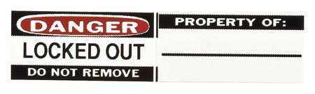 Padlock Identification Labels