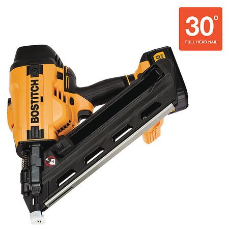 Bostitch Framing Nailer Kit, 20V, 28 Degree Point BCF30PTM1   Zoro.com
