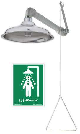 Horizontal Emergency Showers
