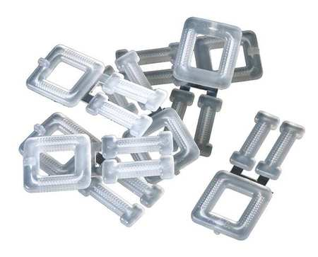 ZORO SELECT 16P027 Strapping Buckle,5//8 In.,PK250